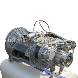 陕汽德龙车型配件 德龙H6000变速箱总成陕汽德龙变速箱壳子图片