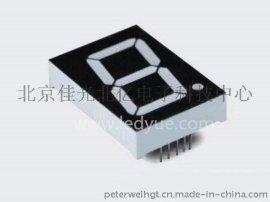 1.2英寸单一1位led数码管共阳共阴黄绿光12011A/B