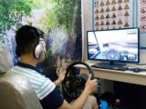 开驾驶模拟器店
