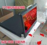 肯威抽拉折叠17寸液晶翻转屏1u车载显示器监视屏高清LED屏SDI接口