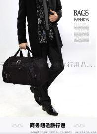 定制生产大容量单肩手提旅行包女健身包定做批发男商务短途行李包鞋位旅行袋运动包