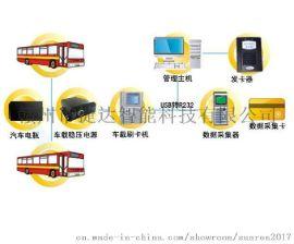 赣州城市公交消费系统 车载IC刷卡消费机 城市巴士打卡机房地产观光巴士刷卡器