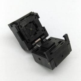 QFN56 老化座 0.4间距 芯片测试座 翻盖编程座 IC550-0564-010-G