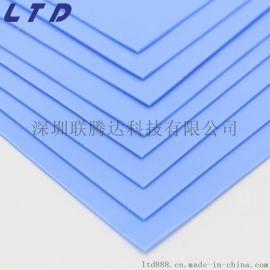 定制路灯导热硅胶片 大功率硅胶导热片