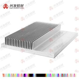 鋁型材散熱器廠家直銷 廣東興發鋁材