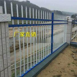 广西栏杆栅栏铁艺围栏南宁铁艺热镀锌院墙防护栏厂现货