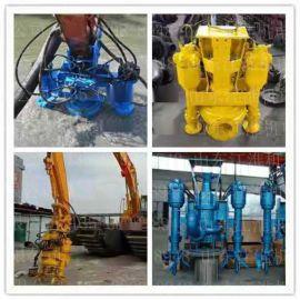 禹州国内外各型号挖掘机无堵塞碎石泵 基桩专用抽砂泵 挖掘机大型采砂泵