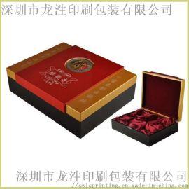 茶叶包装设计定制, 高档精装天地盖礼盒印刷定制