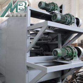 带式塑料颗粒烘干机 空气能烘干脱水一体机