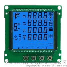 深圳厂家供应段码液晶显示模块全透半透LCD液晶屏LCM液晶模块