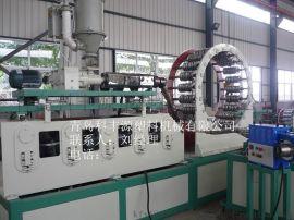 pe钢带缠绕管生产线 塑钢缠绕管生产设备