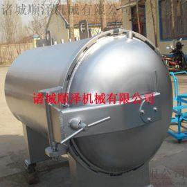 食用菌蘑菇灭菌锅 高压蒸汽灭菌锅 菌包灭菌设备