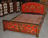 成都 藏式實木傢俱定製 藏式牀 藏式椅子 藏式佛龕定製
