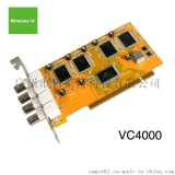 天敏VC4000、4路視頻採集卡、視頻卡