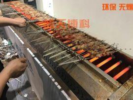 藍天博科商用不鏽鋼電烤爐大功率黑金直管電烤爐