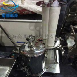 小推车滤芯过滤器 带专用泵 上海精密过滤器厂家