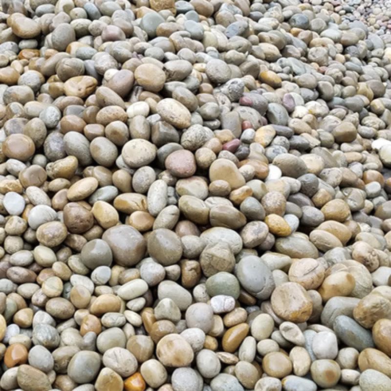 【2-3公分鹅卵石厂家】鹅卵石