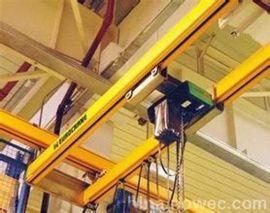 KBK单梁悬挂起重机PK环链葫芦柔性轨道