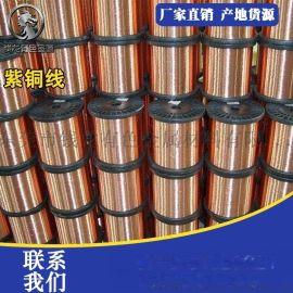 T2紫铜线无氧紫铜线 镀锡红铜线 裸铜丝高纯度纯铜线0.05-8.0mm