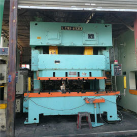 广东二手气动冲床JH21-200吨数控冲床回收厂家