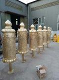 批发纯黄铜转经筒寺院   各种铜雕转经筒