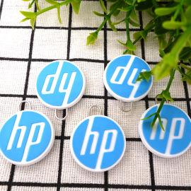 HP箱包拉链头 环保PVC拉牌