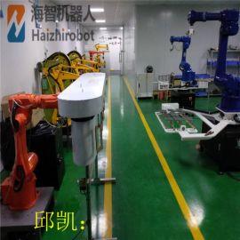喷涂冲压机械手 四六轴机械手臂 海智机器人工厂