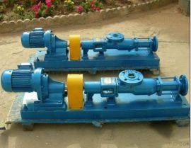 佛山单螺杆泵厂家丨惠州强制送料螺杆泵丨输送污泥污水