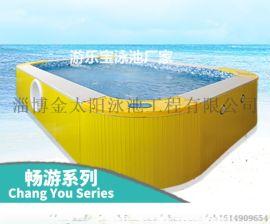 河北廊坊幼儿园游泳池亲子组装池戏水池厂家
