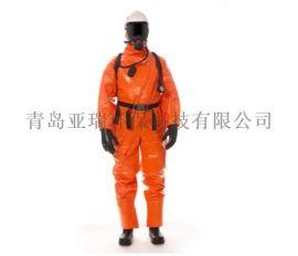 化工消防船舶专用CPS5800气密型化学防护服