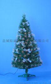 支架式PVC光纤装饰树120CM高