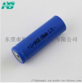14430 电池650mAh 3.7V强光手电筒电动牙刷电池定制