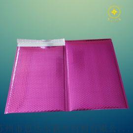 紫色亮光恒温内衣镀铝膜气泡袋,源头工厂直销