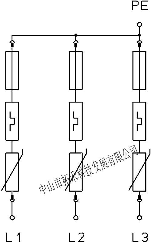 德国OBO电源防雷器C级保护40KA避雷器