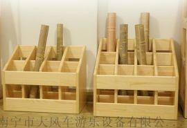 南宁幼儿园木质幼儿毛巾架和口杯架都是多少钱一套