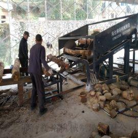 xy-2600圆木断木锯 木材锯木机