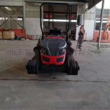 柴油座駕式50馬力履帶式拖拉機 履帶式旋耕機