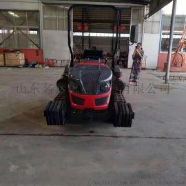 柴油座驾式50  履带式拖拉机 履带式旋耕机