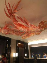 中山餐饮装饰鱼灯定做-古镇工程灯厂家