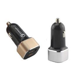 USB车充+PD协议快充, 铝材+PC防火材料