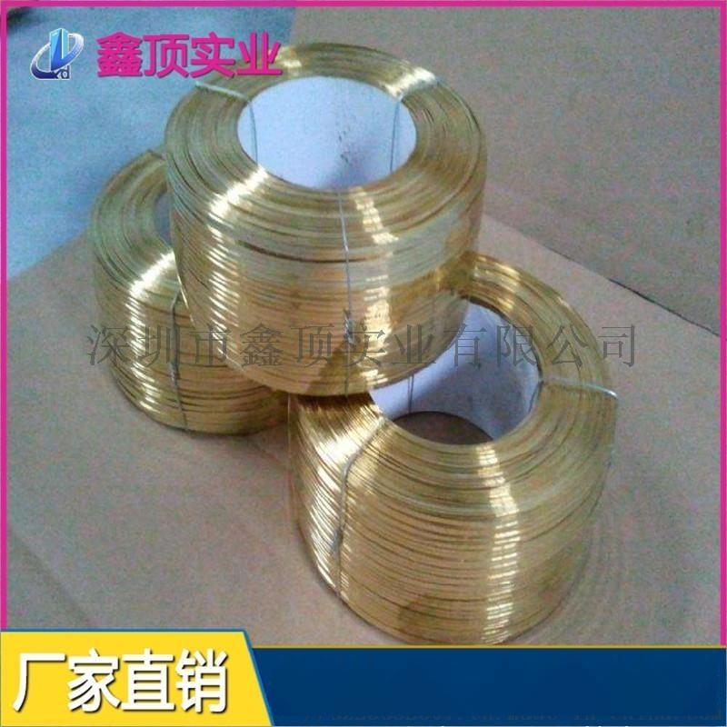 C2680黄铜扁线,黄铜扁条规格,黄铜线