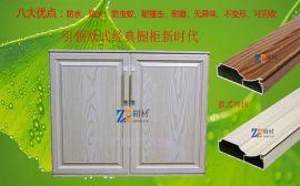 橱柜门铝材, 晶钢门铝材