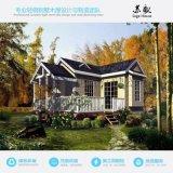 欧式风格度假轻钢龙骨结构别墅房屋 模块化预制房屋