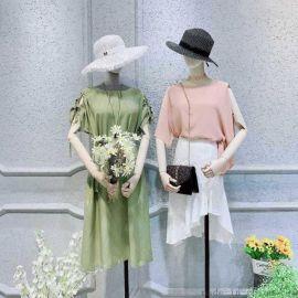 女装打底裙她衣柜(丰乐店)怎么样品牌女装尾货女式毛衣女装针织外套