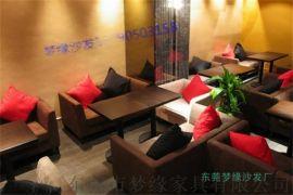东莞西餐厅咖啡厅卡座沙发厂家