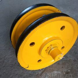供应起重机滑轮组  定制轧制滑轮 16T**定滑轮