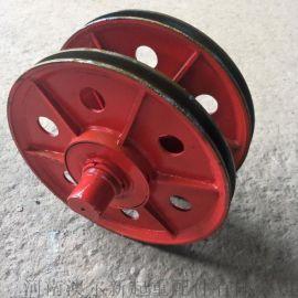 供应优质双梁起重机吊钩滑轮组 / 45号铸钢滑轮组