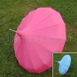 可加印LOGO直杆伞 宝塔形女式礼品伞 成人用广告伞