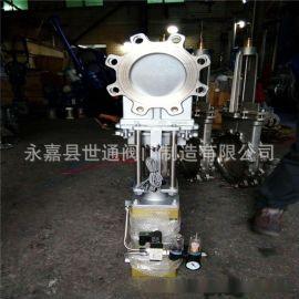 PZ673W-10P 气动带三联件不锈钢气动插板