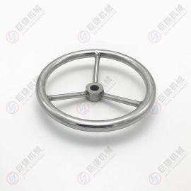 高品质不锈钢圆形手轮 方向盘式手轮 M16 M20 M24 304不锈钢手轮
